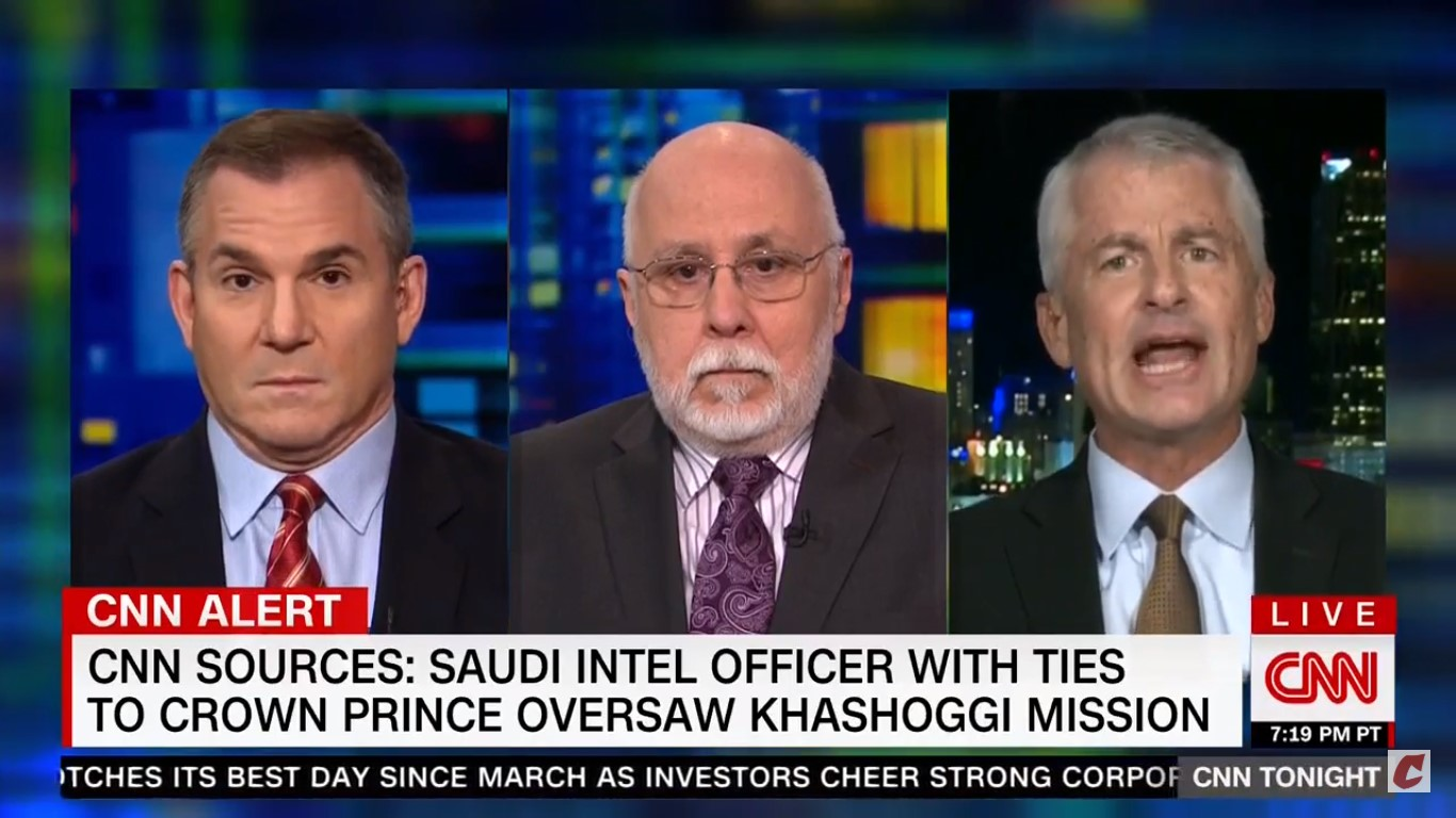 CNN's Phil Mudd: Trump 'Has To Get Off His Fat Ass' And Ask Some 'Basic' Questions On Khashoggi