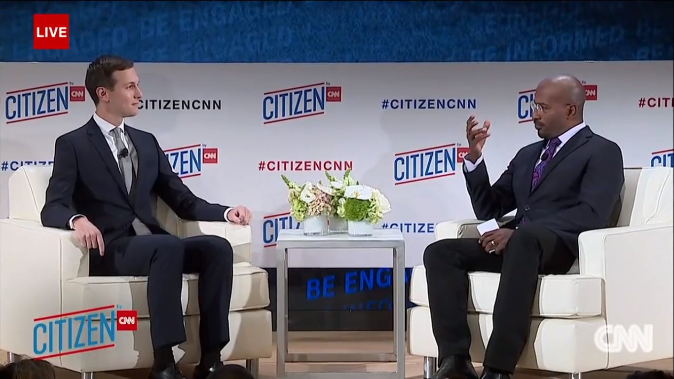 Van Jones To Jared Kushner: 'You Have Like The Dopest Job In The World,' How Did You Get It?