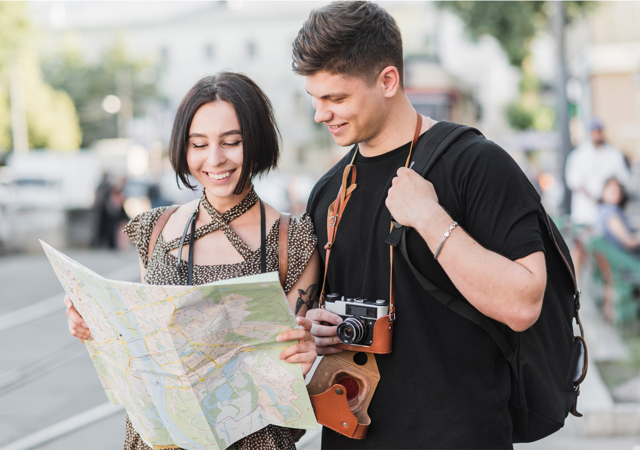 Get a map to locate your exact location