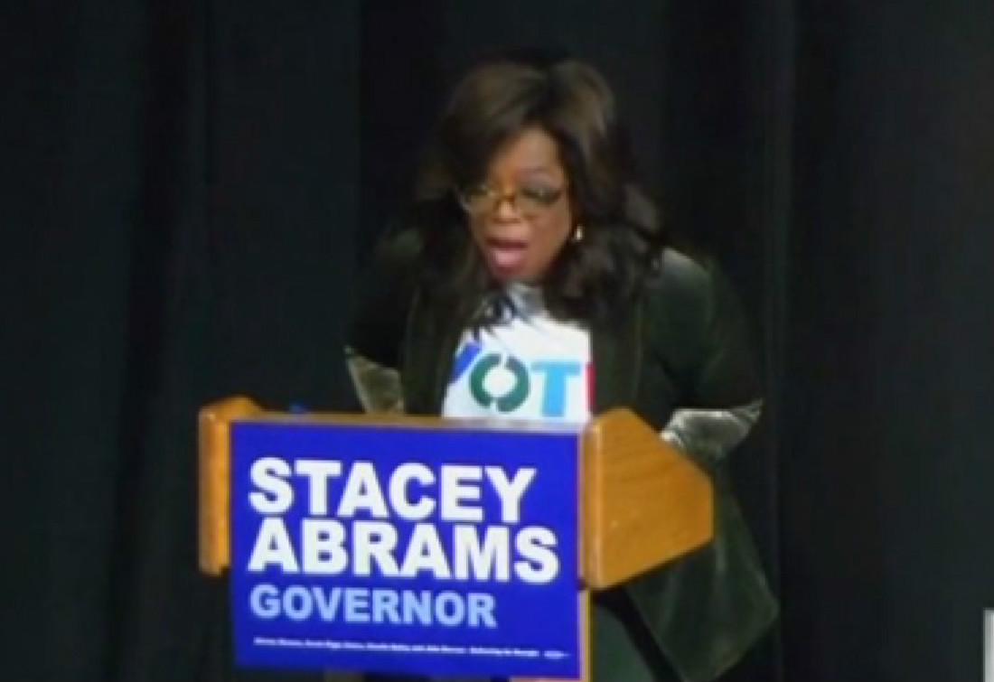'I Don't Want To Run': Oprah Dispels 2020 Rumors While Campaigning For Stacey Abrams