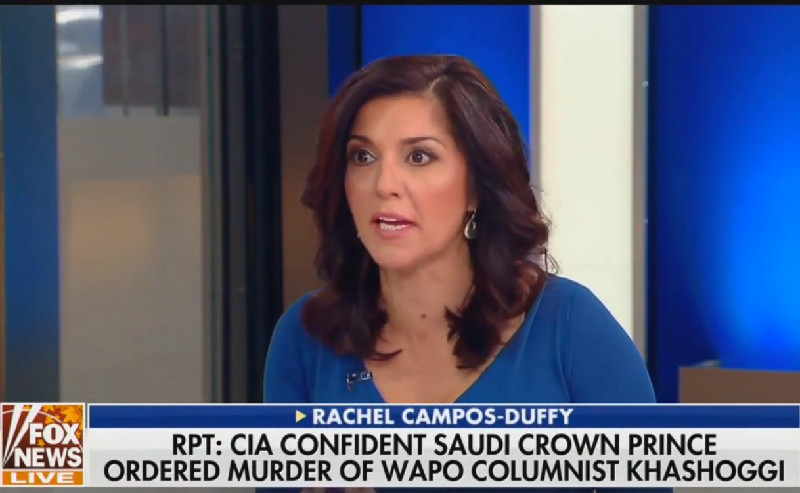 Fox's Rachel Campos-Duffy On Trump's Khashoggi Statement: 'The Killing Aside,' This Is What Folks Like About Him