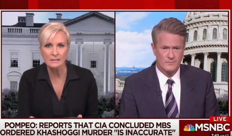 Mika Brzezinski Apologizes For Calling Mike Pompeo A 'Wannabe Dictator's Butt-Boy'