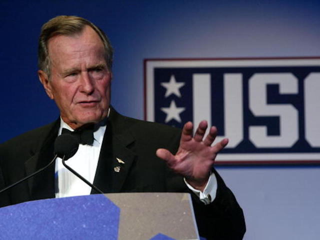 History Suggests Trump May Give A Eulogy At George H.W. Bush's Funeral
