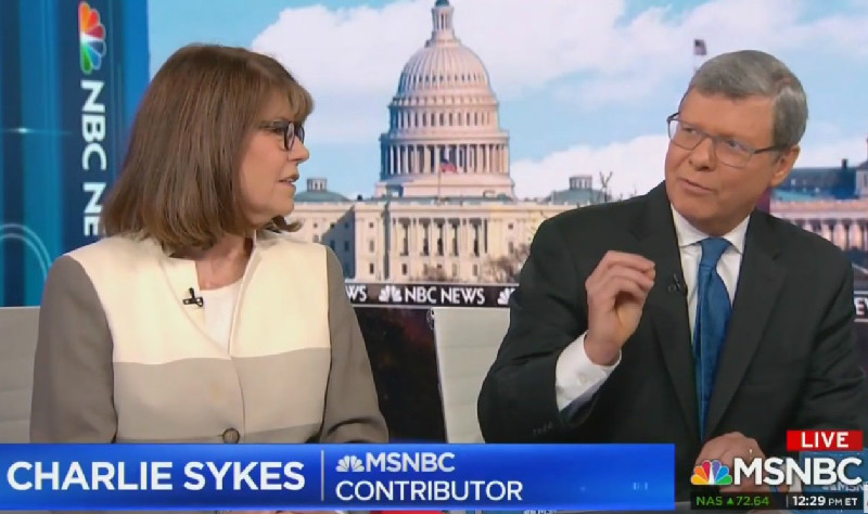'He's A Cheap Grifter': MSNBC's Charlie Sykes Shreds POTUS Over Trump Foundation 'Scam'