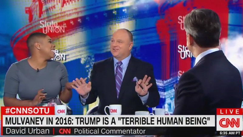 CNN Panelists Bust Out Laughing After Trump Loyalist Claims POTUS 'Has Pretty Thick Skin'