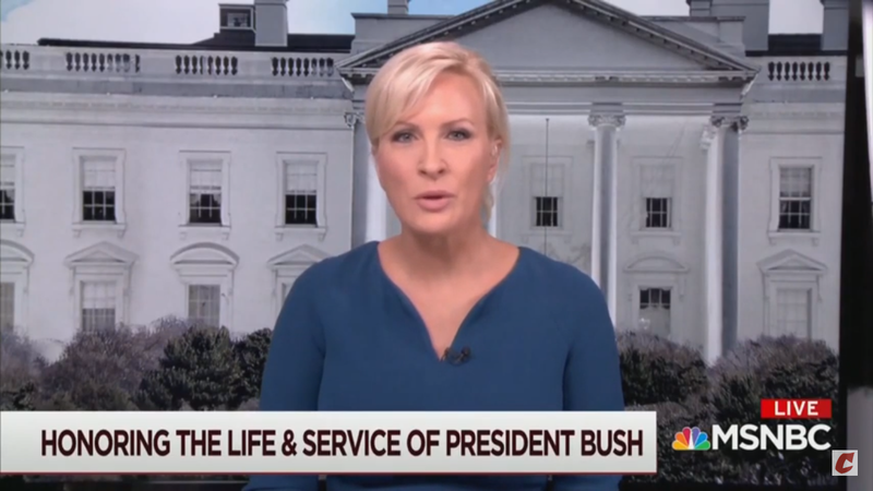 Watch: Morning Joe's Mika Says Trump's Behavior Is 'Deviant' Compared To George H.W. Bush