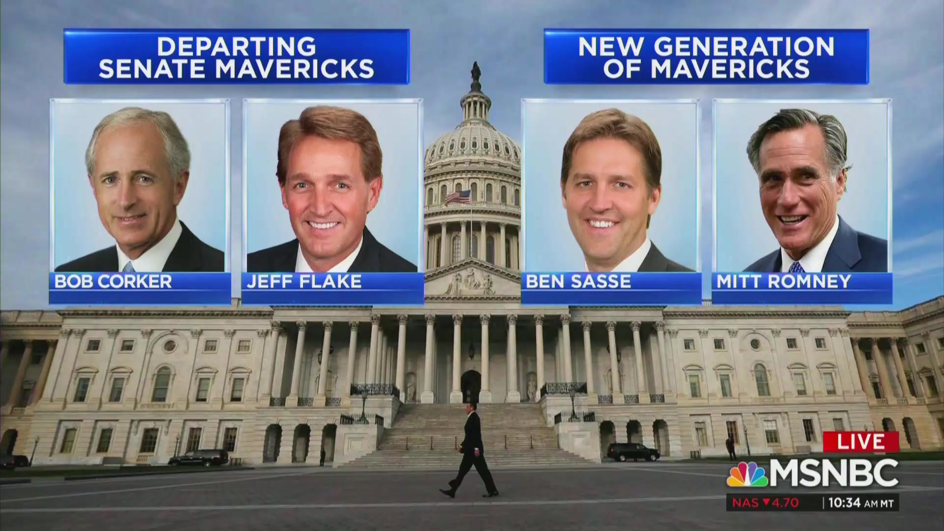 MSNBC Draws Fire For Describing Romney And Sasse As 'New Generation Of Mavericks'