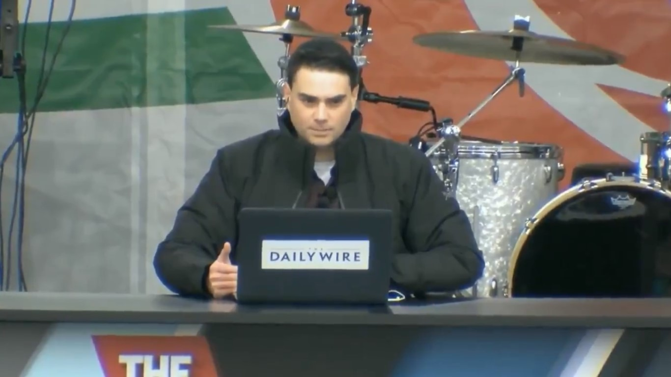 Ben Shapiro: 'No Pro-Life Person On Earth Would Kill Baby Hitler' Because 'Baby Hitler Was A Baby'