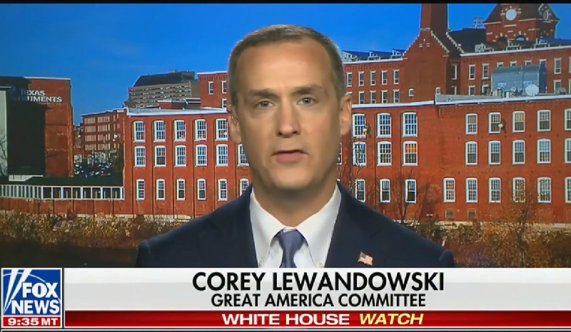 Corey Lewandowski Laughably Insists Mainstream Media Has Ignored Tlaib's 'Motherf*cker' Remarks