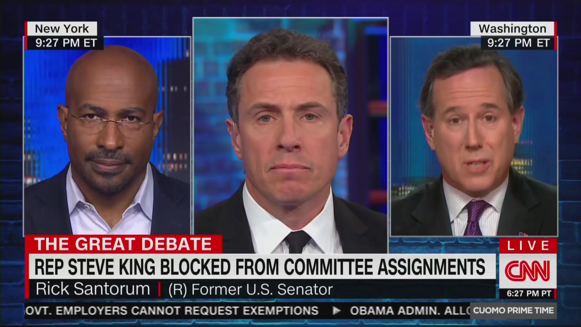 Rick Santorum's Reaction To Steve King: GOP Has 'Better Record On Race Relations' Than Democrats