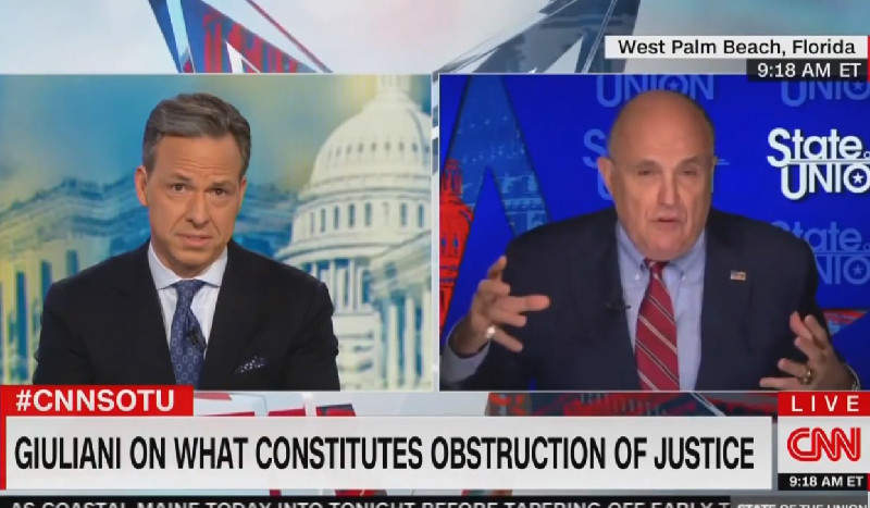 Giuliani: It's Not Obstruction For Trump To Attack Cohen's Father-In-Law Because He Has Mob Ties