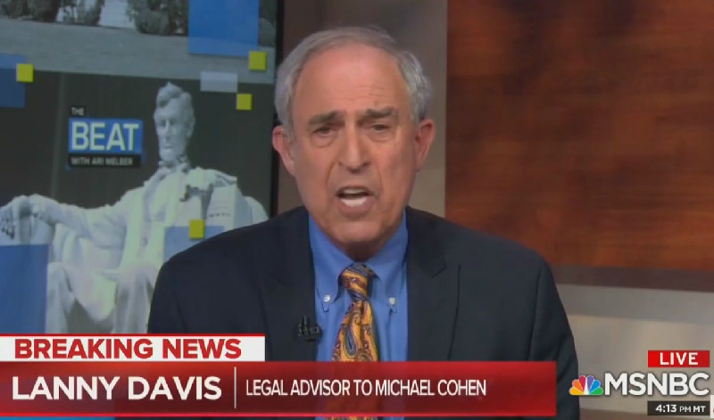 Lanny Davis: Michael Cohen May Cancel House Testimony Over Fears Of Trump Retaliation