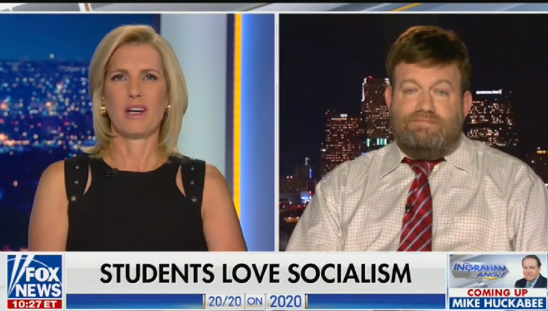 Laura Ingraham Calls On CEOs To 'Start Defending This Way Of Life' And Stem Tide Of Socialism