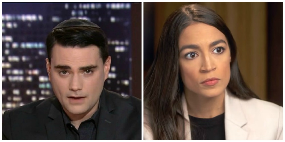 Hours After Saying Nobody Cares About AOC, Ben Shapiro Pens Two Columns About Her