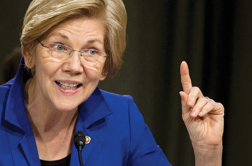 Elizabeth Warren Suggests Trump Could Be In Jail By 2020