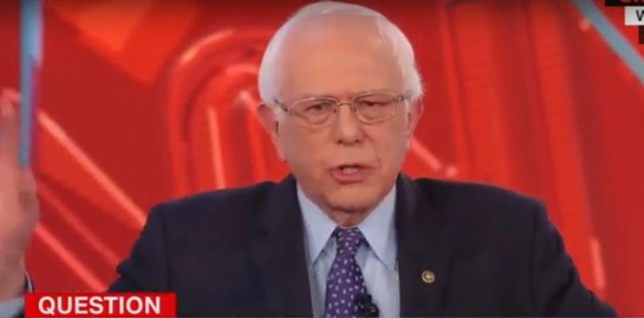 Bernie Sanders Jokes, Sort Of, About Bringing a Lie Detector to Debate Donald Trump