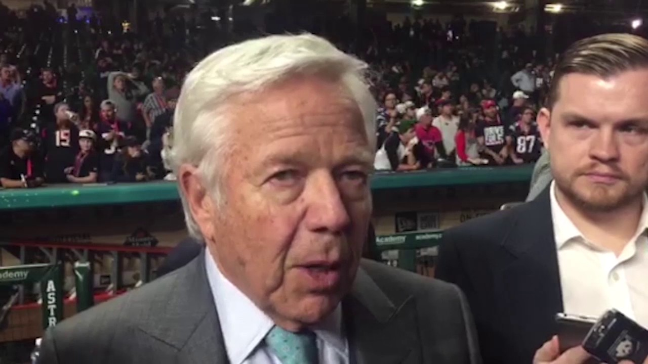New England Patriots Owner Robert Kraft Charged In Florida Prostitution Sting