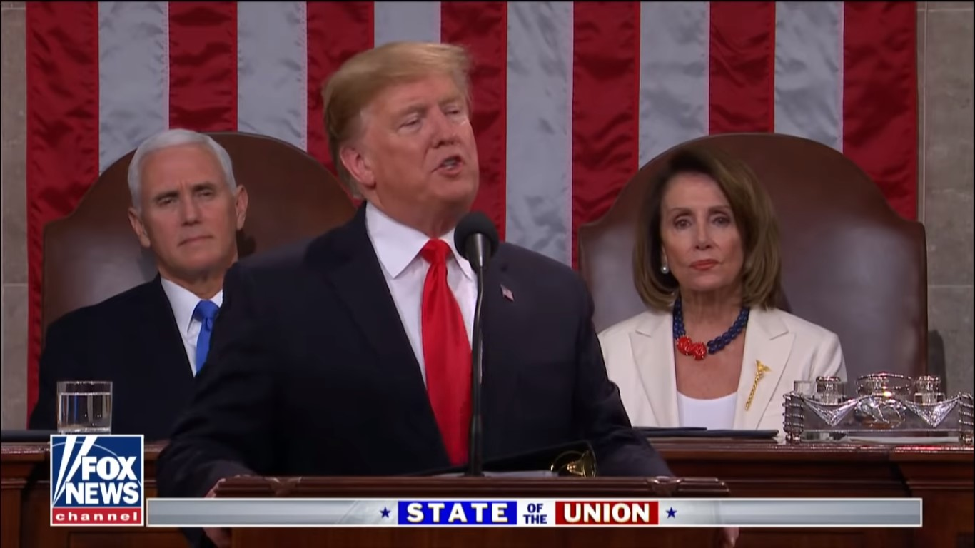 Fox News Pulls In Monster Ratings For Trump's State Of The Union, Draws Over 11 Million