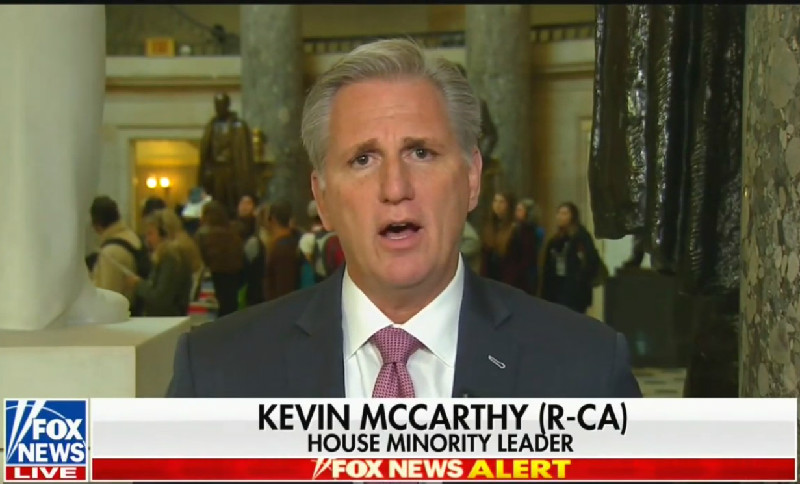 Kevin McCarthy: My Deleted Soros Tweet Not Anti-Semitic, Just About Money In Politics