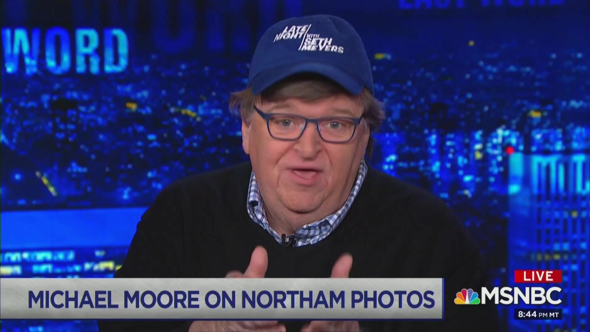 Michael Moore Begs Ralph Northam To Call MSNBC And Resign Live On Air