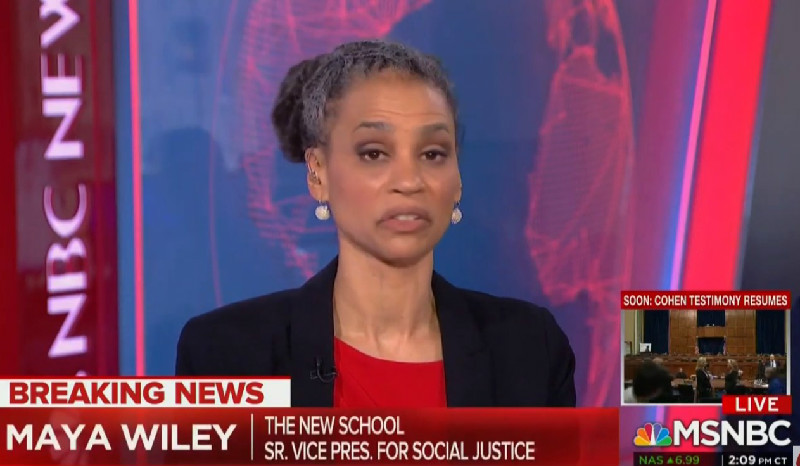 MSNBC's Maya Wiley: Meadows Parading Out Black Trump Staffer 'Most Offensive Thing' I've Ever Seen