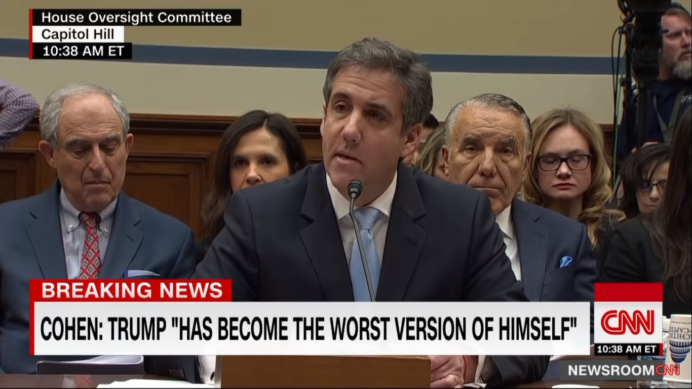 Trump Reportedly Weighing Legal Options Against Michael Cohen for Upcoming Tell-All Book
