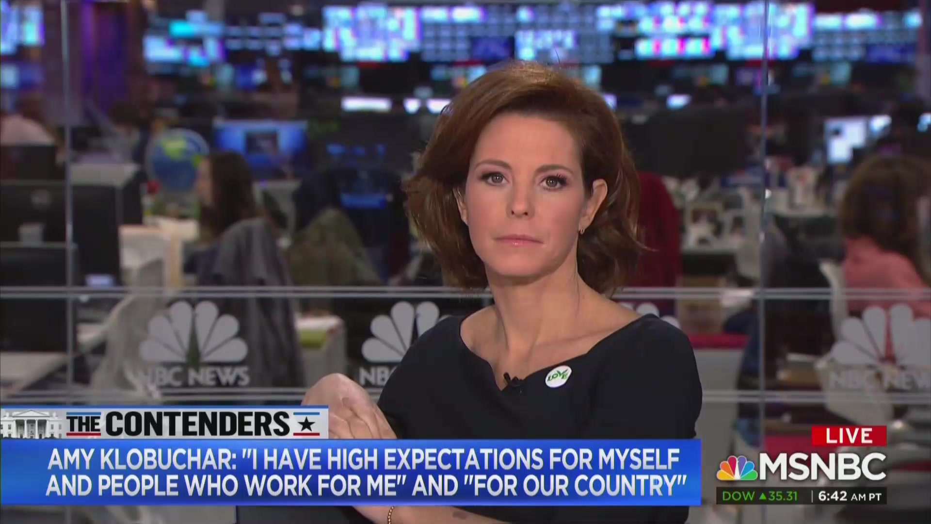 MSNBC's Stephanie Ruhle: People Are 'Basically Saying' Amy Klobuchar 'Was a Bossy Bitch'
