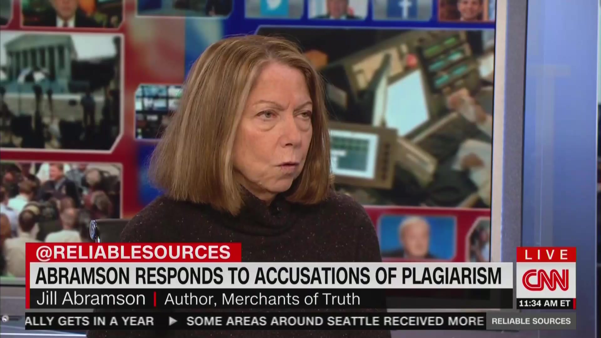 Jill Abramson Won't Own Up To Plagiarism, Blames Controversy On Vice 'Oppo Campaign'