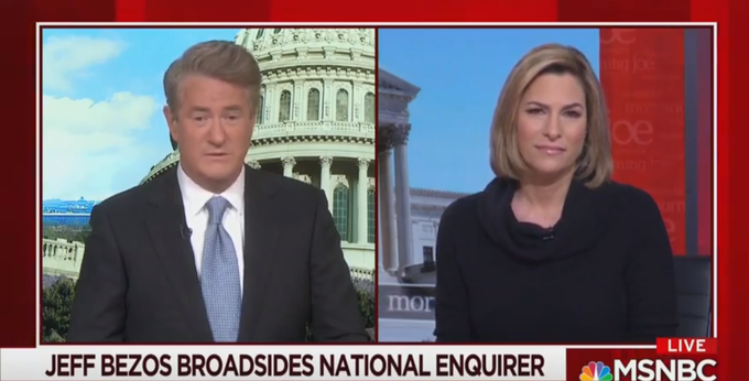 Morning Joe: Who Else Has The National Enquirer Blackmailed For Trump's Benefit?
