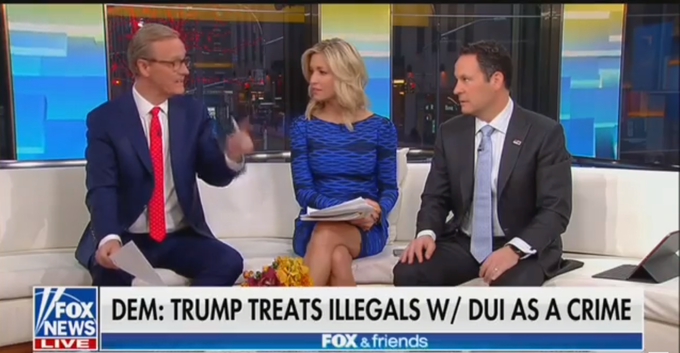 Watch: Fox & Friends Hosts Argue About Whether A DUI Is A Crime