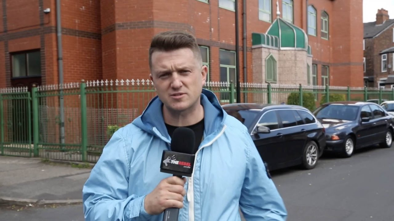 Far-Right Extremist Tommy Robinson Banned By Facebook and Instagram For Hate Speech