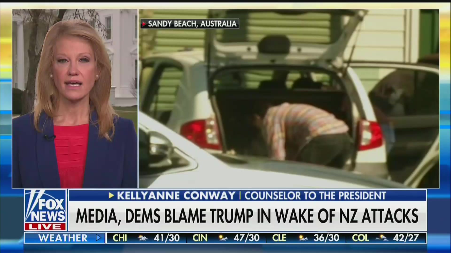 Kellyanne Conway Calls on Fox Viewers to Read New Zealand Shooter's 'Entire' Racist Manifesto