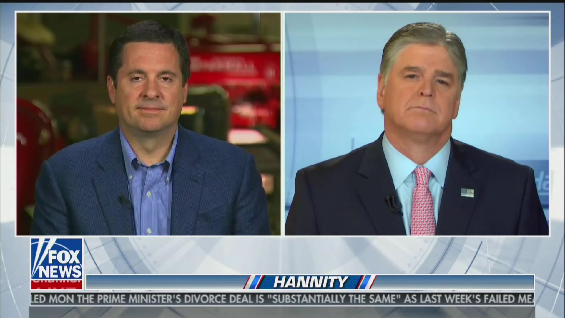 Devin Nunes Tells Hannity That $250 Million Twitter Lawsuit Is the 'First of Many'