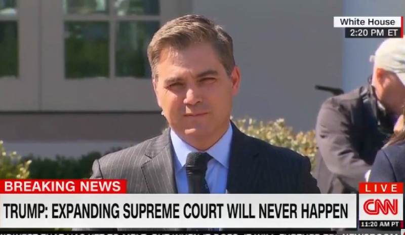 CNN's Jim Acosta: Brazil Prez Bolsonaro Mentioned 'Fake News' to 'Suck Up' to Trump