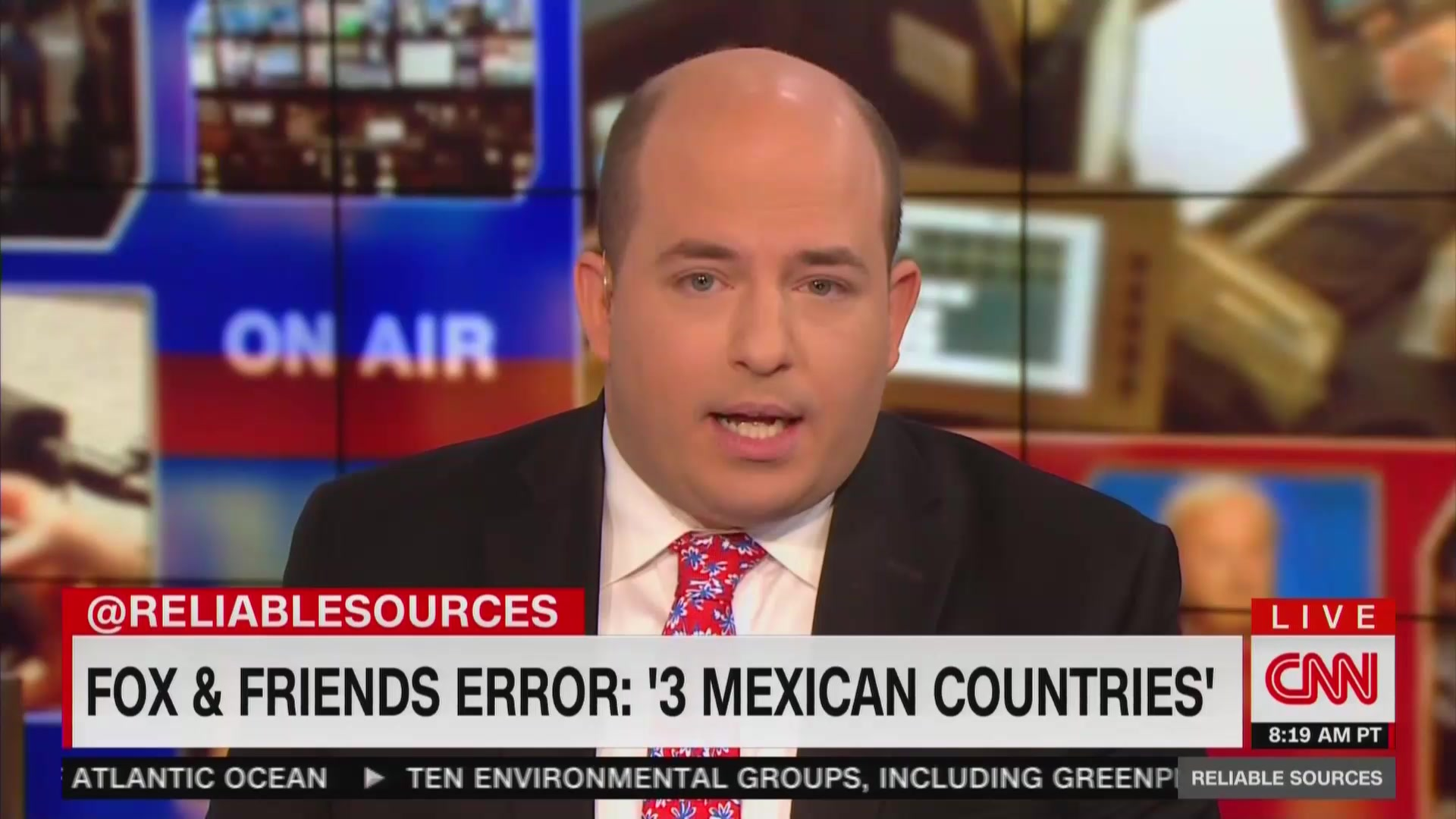 CNN's Stelter Reacts to Fox's '3 Mexican Countries' Flub: 'I Don't Know What Is Going on Over There'