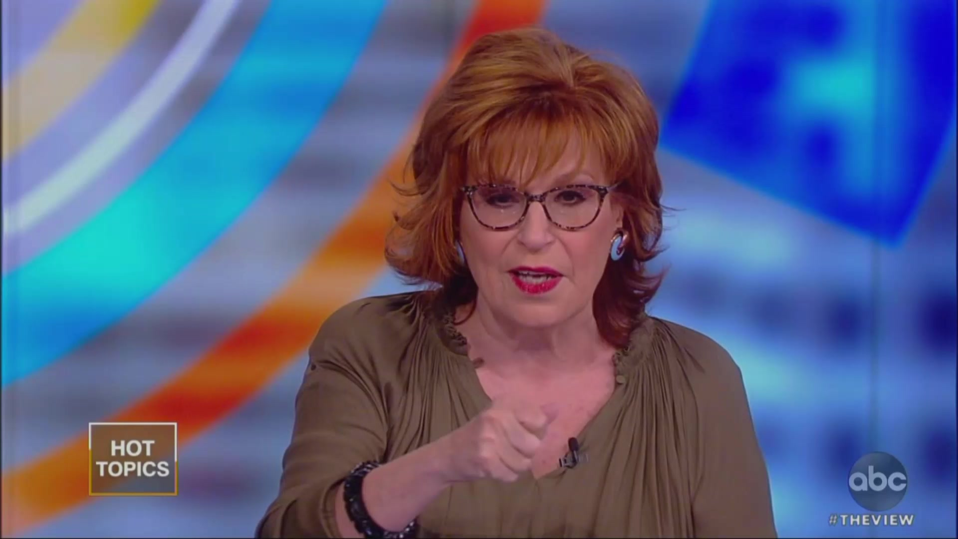 Joy Behar Tells Lindsey Graham to 'Find His Testicularity' After Trump Blasts John McCain