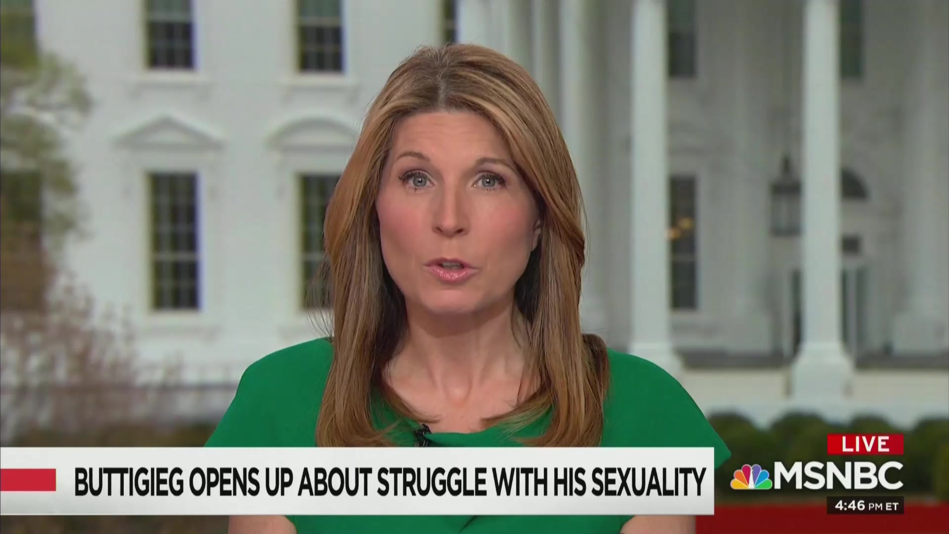 MSNBC's Nicolle Wallace: Pete Buttigieg 'Is Chicken Soup For My Soul'
