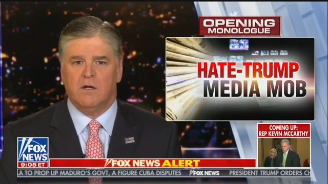 Hannity Rails Against 'Hysteria' Around Mueller Letter: Why Is This a Story?