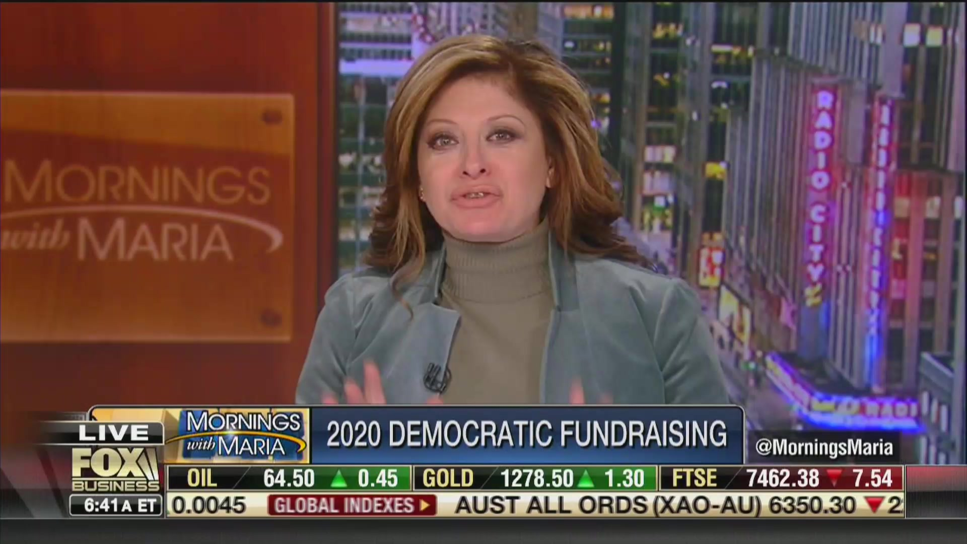 Fox's Maria Bartiromo Blows Up at Guest for Saying the Rich Should Pay Their Fair Share