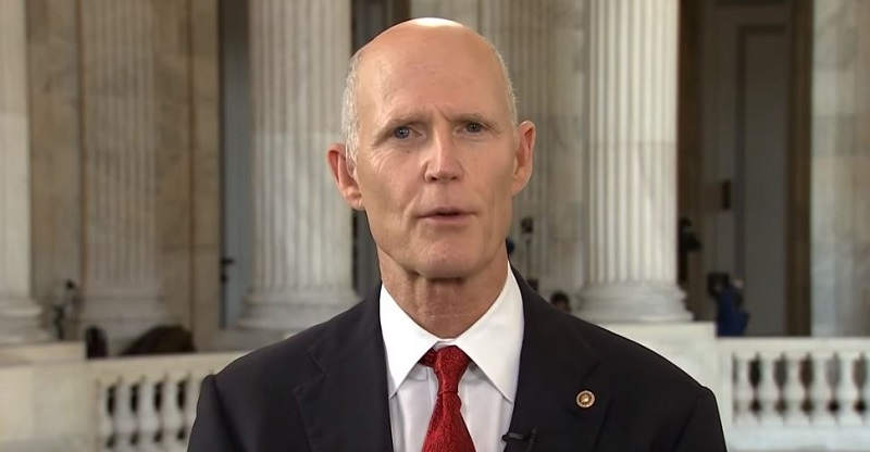 Trump Having Rick Scott Lead Healthcare Fight Shows GOP Has No Idea What It's Doing