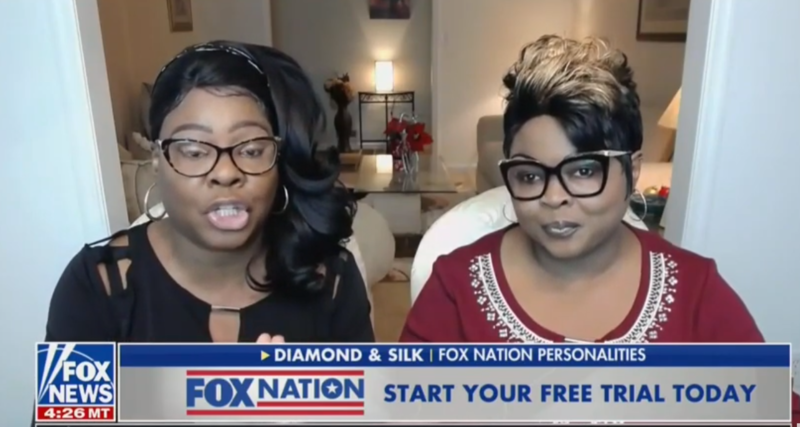 Diamond And Silk: Eating Chicken To Mock William Barr Is 'Racially Insensitive'