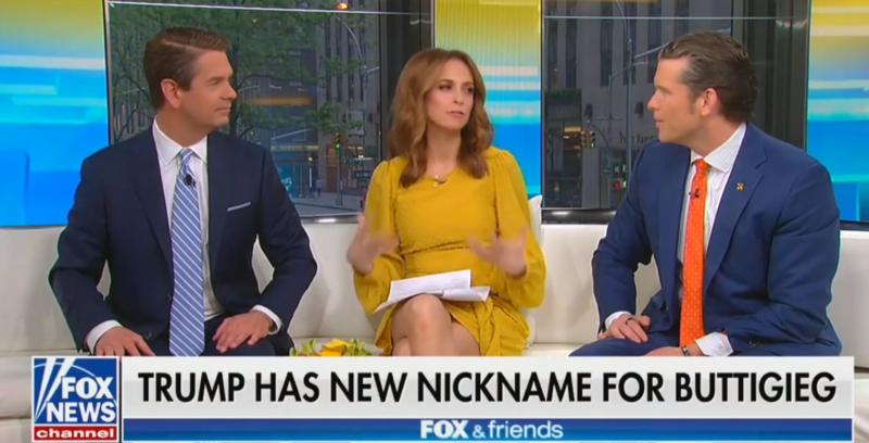 Fox News' Jedediah Bila Criticizes Trump's Use Of Nicknames, Bickers With Co-Hosts