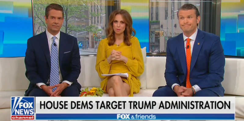 Fox & Friends Blame Jerry Nadler For Trump's Tax Subpoena, Then Realize It Wasn't Him