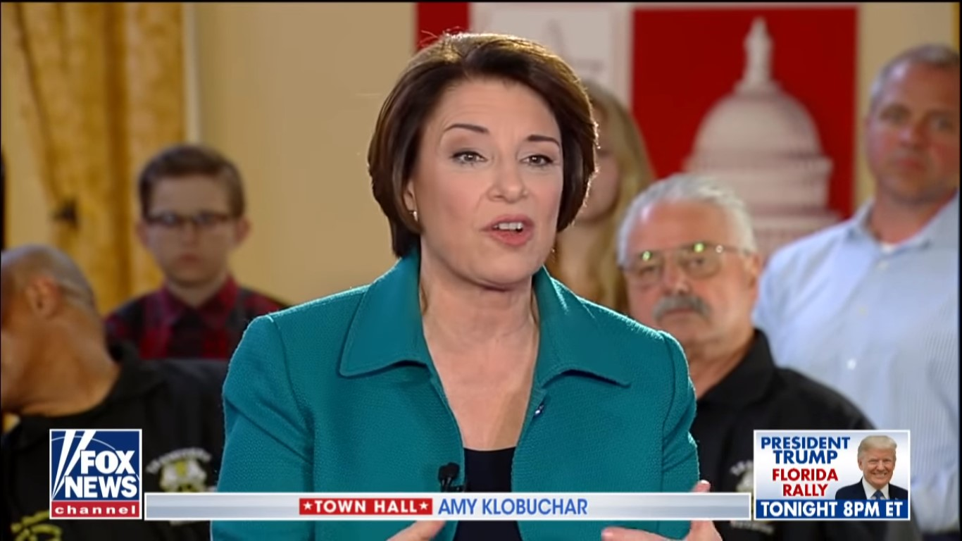 Bernie or Bust: Fox's Klobuchar Town Hall Draws a Million Fewer Viewers Than Sanders