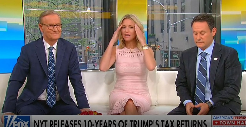 'Fox & Friends' Spins Story on Trump's Billion-Dollar Losses: 'It's Impressive, All the Things He's Done'