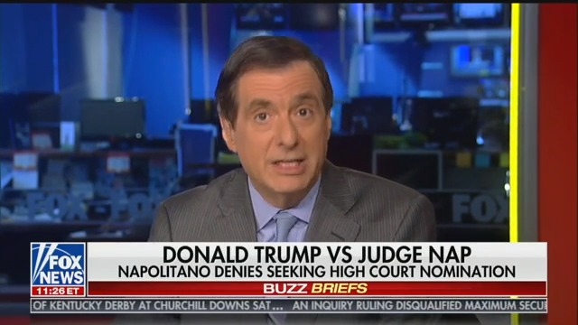 Fox Media Analyst Covers Trump's Call for Fox News to Take Judge Napolitano 'Off the Air'