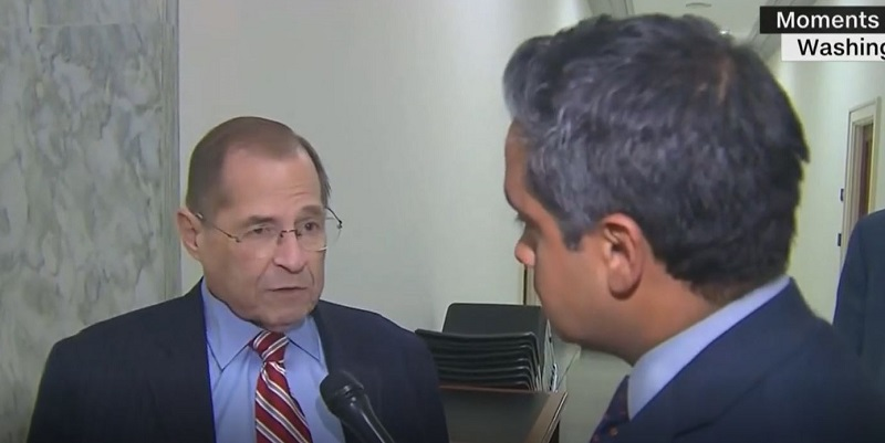 Nadler Furious at Trump Administration's Newest Stonewalling Ploy: 'No President Is Above the Law'