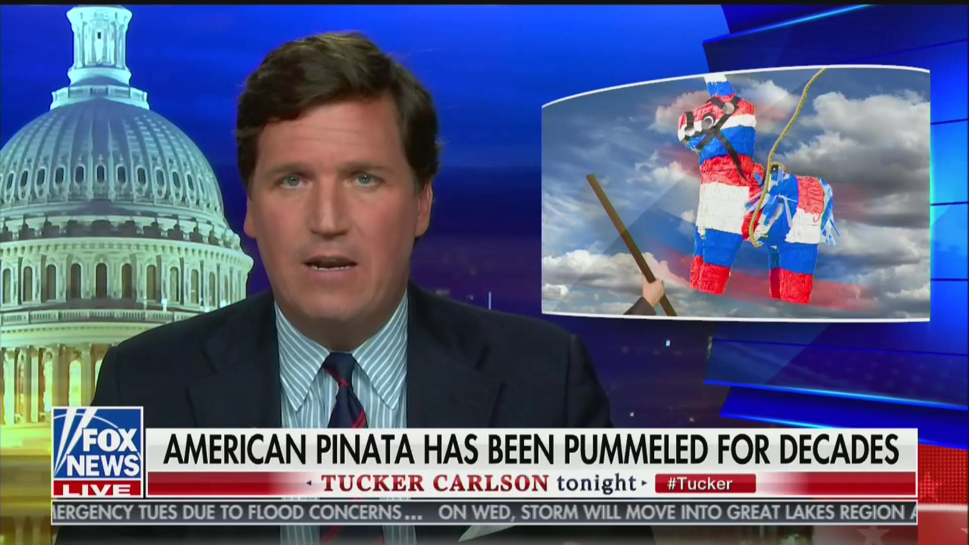 Tucker Carlson: Immigrants Have 'Plundered' Our Wealth and 'Are Coming' For More