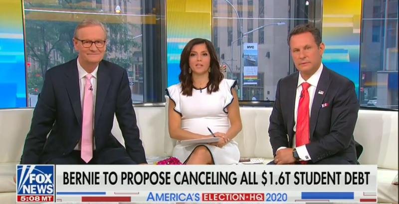 Fox's Brian Kilmeade: Cancelling Student Debt Would Be 'Putting A Zero Value' On College