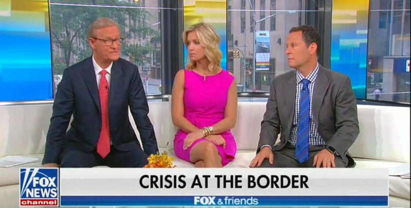 Fox's Brian Kilmeade Complains That Border Agents Are Separated From Their Families